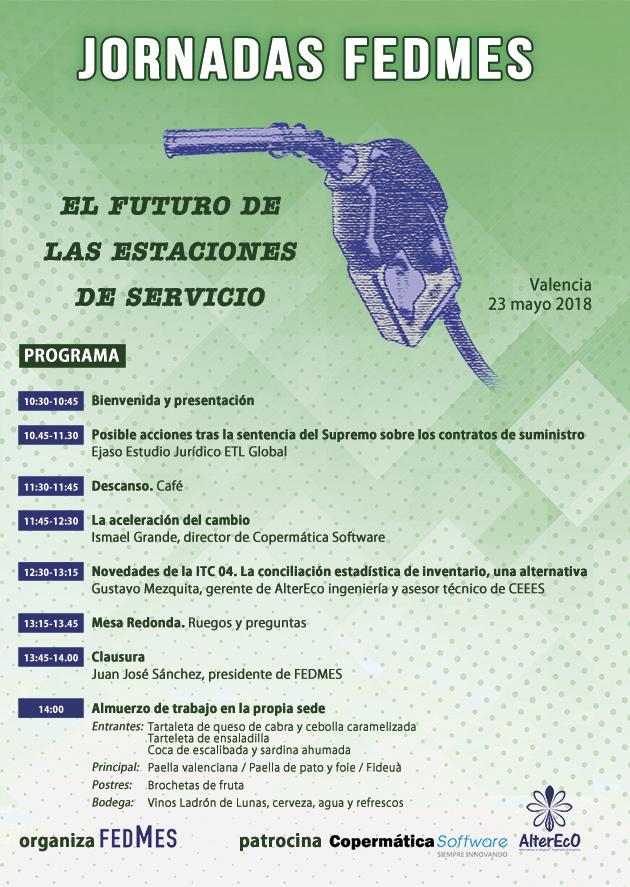 Programa de las jornadas del 18 de mayo